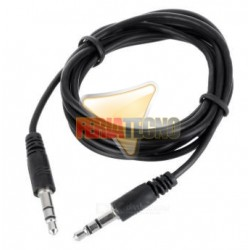 CABLE DE AUDIO PLUG 3.5MM 1.8 METROS M/M