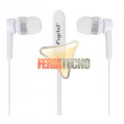 AUDIFONO MANOS LIBRES ESTEREO 3.5MM, COLOR BLANCO