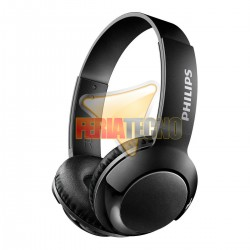 AUDIFONO BLUETOOTH PHILIPS NEGRO. SHB3075 ON EAR BASS +