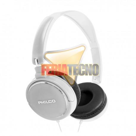 AUDIFONO CINTILLO PHILCO PLC18 BLANCO 3.5 MM.
