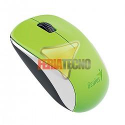 MOUSE OPTICO INALAMBRICO GENIUS USB, NX-7000, VERDE