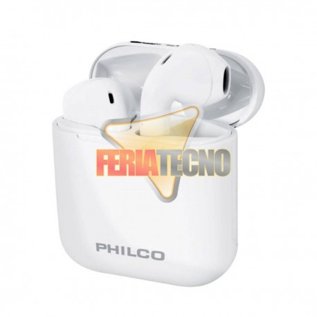 AUDIFONO BLUETOOTH PHILCO TLW2B TOUCH BLANCO