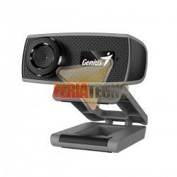 WEBCAM GENIUS FACECAM 1000X HD, CON MICROFONO