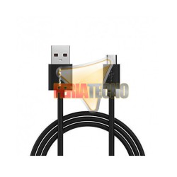 CABLE MICRO USB A USB 1 METRO, COLOR NEGRO.