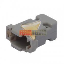 TAPA PARA CONECTOR VGA Y DB9, PLASTICO