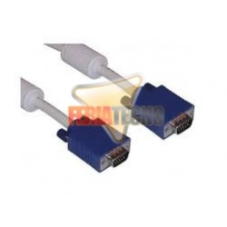 CABLE VGA  15 MTS. MACHO/MACHO BLANCO