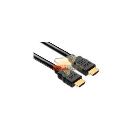 CABLE HDMI 10 MTS. CONECTOR BAÑO ORO