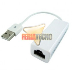 ADAPTADOR USB 2.0 A RJ45 (RED)