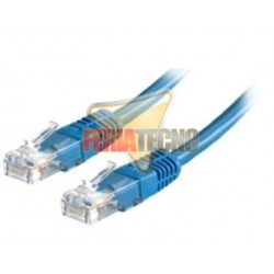 CABLE PATCH UTP CAT5E 2 MTS. AZUL.