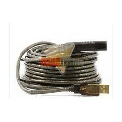 CABLE ACTIVO USB 2.0 A-A 10 METROS M/H
