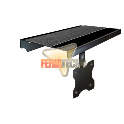 SOPORTE METÁLICO DE SOBREPONER EN LCD O LED. PARA  BLU-RAY, DVD, DECO.