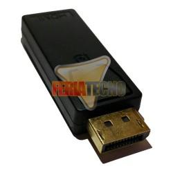 ADAPTADOR DISPLAY PORT MACHO A HDMI HEMBRA.