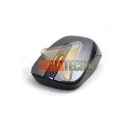 MOUSE OPTICO INALAMBRICO GENIUS USB, NX-7015, NEGRO/GRIS