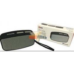 PARLANTE PORTATIL BLUETOOTH, CON RADIO, COLOR NEGRO/GRIS