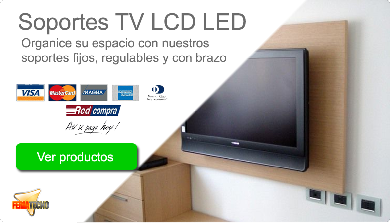 Soportes TV LED LCD